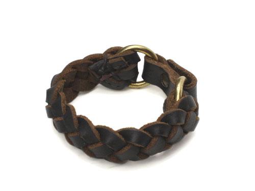 Fernand Leather LANTANA Bracelet Black【フェルナンドレザー ランタナブレスレット ブラック】