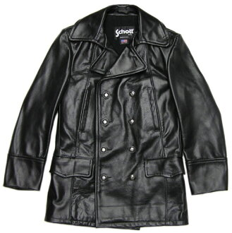 """Schott"" 650 LEATHER JACKET black"