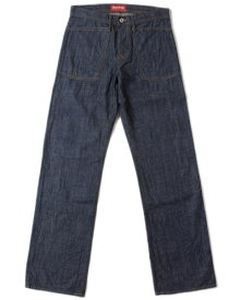 """THE STRONGHOLD """"UTILITY"""" Light Wt. Blue Denim - River Rinse【ストロングホールド正規取扱い】"""