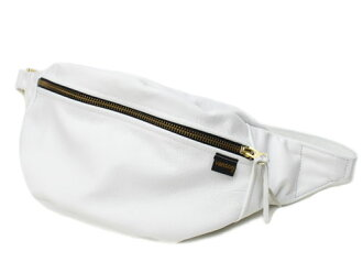 """VANSON"" bag ""NEW FANNY PACK"" white"