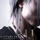 """【2019S/S新作】""""CIVARIZE【シヴァーライズ】Stream 多重パーツイヤーフック/全2色""""【返品対象外商品】【あす楽対応】…"""