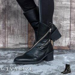 """【2020A/W新作】""""CIVARIZE【シヴァーライズ】ェイクレイヤードドレープエンジニアブーツ/全2色""""【返品・交換対象商品】【あす楽対応】ブーツヒールブーツブーツイン靴シューズヴィジュアル系V系メンズファッションモード系厚底"""