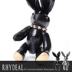 RHYDEALSelectPUレザーラビットキーホルダー/全2色