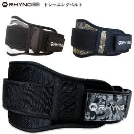 【送料無料】 RHYNO ライノ リフティングベルト 筋トレ ウエイトトレーニング ナイロン バーベル トレーニングベルト 腰 サポーター weightlifting belt レディース 女性 サイズあり