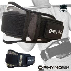 【送料無料】 RHYNO トレーニング ベルト weightlifting belt おしゃれ な カモフラージュ ジム での ウェイトリフティング トレーニング 筋トレ に おすすめ