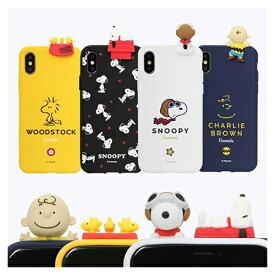 ST Snoopy Figure Color Jelly スヌーピー iPhone Galaxy ケース カバー スマホケース