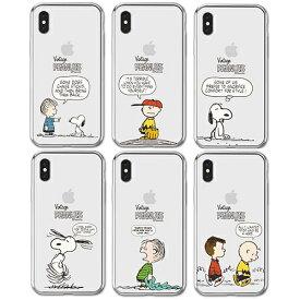 JH/ Snoopy Cartoon Clear Jelly スヌーピー iPhone Galaxy ケース カバー スマホケース