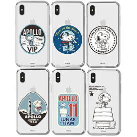 JH/ Snoopy Apollo Clear Jelly スヌーピー iPhone Galaxy ケース カバー スマホケース