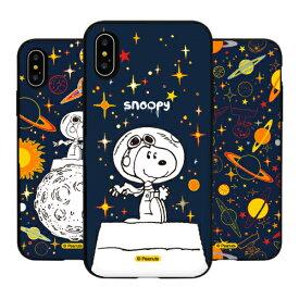 FT PEANUTS Snoopy Universe Card Mirror Bumper スヌーピー IC Suica カード収納可能 iPhone Galaxy ケース カバー スマホケース