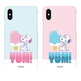 [FT] PEANUTS SNOOPY Ice Candy Slim Hard/スヌーピ/iPhone/Galaxy ケース/カバー/スマホケース