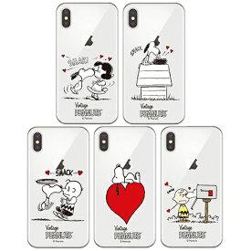 JH/ PEANUTS Snoopy Kiss Clear Jelly スヌーピー iPhone Galaxy ケース カバー スマホケース