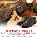 オプションサービス 靴全体補色<1足あたり>【靴クリーニング プレミアムコース 専用オプション】