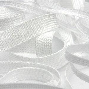 スピンテープ ポリエステル 約7mm ホワイト 9.14M巻 手芸 服飾 栞紐 セーラーテープ FUJIYAMA RIBBON