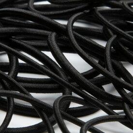ストレッチコード ポリエステル 3mm ブラック 9.14M巻 手芸 服飾 ドローコード FUJIYAMA RIBBON