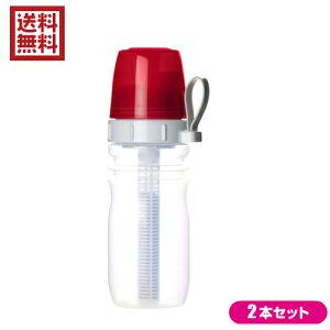 【ポイント6倍】最大32倍!浄水器 カートリッジ コンパクト リセラマグボトル(携帯用ボトル型浄水器) 2本セット