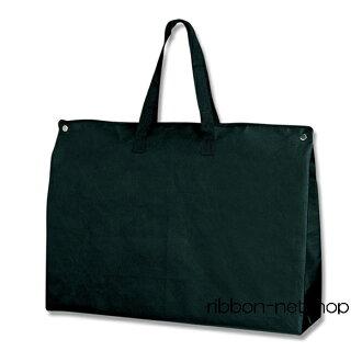 ☆ 编织布袋子 ☆ 编织布礼品袋 F 袋拉链 LL 黑 5 片肯定 20