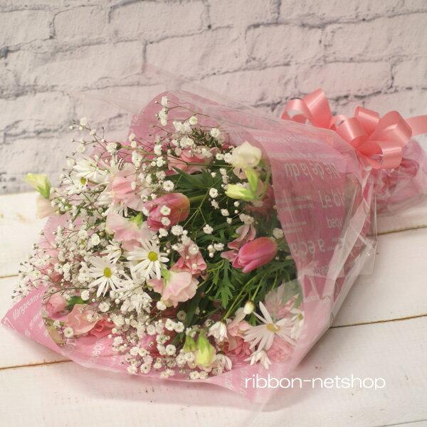【2月限定】【送料無料】デザイナーにおまかせ♪マーガレットと季節のお花の花束FL-2GT-7