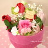 Decorate ♪ standing bouquet of tulips and seasonal flowers (flowers) FL-3GT-10