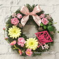 ひな祭りインテリアにぴったり!ピンクでおしゃれ可愛いひな祭りリース