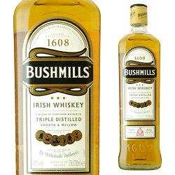 ブッシュミルズアイリッシュ・ウイスキー40度700ml
