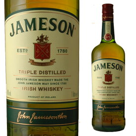 [大容量] ジェムソン 40度 1000ml 1L アイリッシュウィスキー 1L スタンダード 箱なし【 アイリッシュウイスキー ウイスキー ウィスキー お酒 酒 洋酒 内祝い ギフト 父の日 誕生日プレゼント 暑中見舞い 贈り物 遅れてごめんね 】【ワインならリカオー】