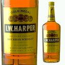[大容量] IWハーパー ゴールドメダル 40度 1000ml 【ウィスキー バーボン バーボンウイスキー ギフト 洋酒 お酒 内祝…