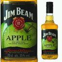 ジムビーム アップル 35度 700ml 【 ウィスキー バーボン バーボンウイスキー ギフト 洋酒 お酒 プレゼント 女性 誕生…