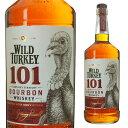 [大容量] ワイルドターキー 101 50.5度 1000ml 1L 【 ウイスキー ウィスキー バーボン バーボンウイスキー ギフト 洋…