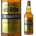 IWハーパー ゴールドメダル 40度 700ml 箱なし 【 ウィスキー バーボン バーボンウイスキー ギフト 洋酒 お酒 内祝い …