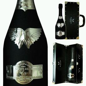[送無] エンジェルシャンパン ブラック ブリュット 750ml 送料無料 [ボックス入]【 エンジェル シャンパン お酒 シャンペン 高級シャンパン 酒 ワイン シャンパーニュ 結婚祝い ギフト 内祝い 誕生日プレゼント 母の日 お父さん 父の日 】【ワインならリカオー】