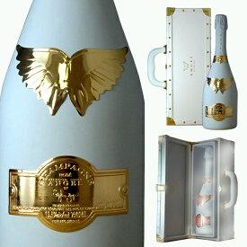 [送無] エンジェルシャンパン ホワイト ロゼ ブリュット 750ml 送料無料 [ボックス入]【 シャンパン シャンパーニュ お酒 ワイン シャンペン スパークリング 結婚祝い ギフト 内祝い 誕生日プレゼント 母の日 花以外 お父さん 父の日 】【ワインならリカオー】