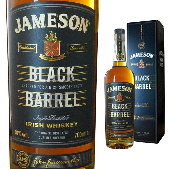 [箱入] ジェムソン ブラック バレル 40度 700ml アイリッシュ ウィスキー【 お祝い 内祝い アイリッシュウイスキー 誕生日プレゼント 誕生日 酒 洋酒 お酒 プレゼント ギフト ウイスキー お返し ウィスキー 母の日 父の日 退職祝い 】【ワインならリカオー】