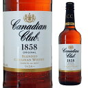 カナディアンクラブ 40度 700ml【 ウィスキー ギフト 洋酒 お酒 プレゼント 女性 内祝い 退職祝い お返し 贈り物 父 …