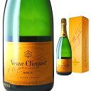 [箱入]ヴーヴクリコ ポンサルダン ブリュット イエローラベル 750ml 【 シャンパン ブーブクリコ ギフト お酒 スパー…