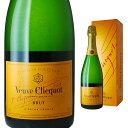 [箱入] ヴーヴクリコ ポンサルダン ブリュット イエローラベル 750ml 【 シャンパン ブーブクリコ シャンパーニュ ギ…