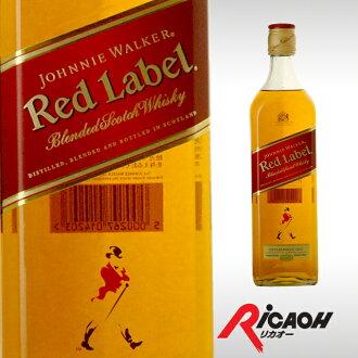 尊尼获加威士忌红标签红40度700ml(红酒洋酒苏格兰威干忌苏格兰威干忌酒威士忌男性女性祝贺礼物生日礼物家族庆贺纪念日白色情人节回敬)