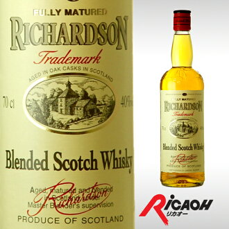 Richardson Scotch whisky 700 ml 40 degrees