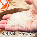 令和1年【送料無料】【特別栽培米】宮城県認証!宮城県登米産ササニシキ 25kg【送料無料】[白米/無洗米]選択可能小分け(5kg×5袋)可能減農薬・減化学肥料