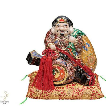 九谷焼9号小槌乗り大黒盛和食器日本製ギフトおうちごはんうつわ陶器