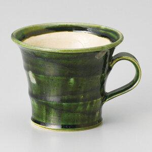 和食器 スパイラル 織部 マグカップ コーヒー 珈琲 紅茶 カフェ おしゃれ 陶器 うつわ おうち 軽井沢 春日井 ギフト