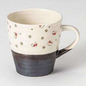 和食器 土物いぶしウサギ赤軽量 マグカップ コーヒー 珈琲 紅茶 カフェ おしゃれ 陶器 うつわ おうち 軽井沢 春日井 ギフト