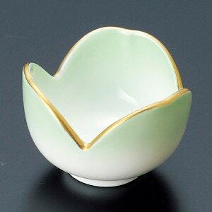 和食器 小さなグリーン 緑吹割山椒 小鉢 6.2×4.5cm うつわ 陶器 おしゃれ おうち