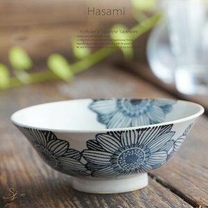 和食器 波佐見焼 every碗 ご飯茶碗 マーガレット 青色 土物 煮物鉢 中鉢 深鉢 深皿 スープ皿 食器 おうちごはん おうちカフェ