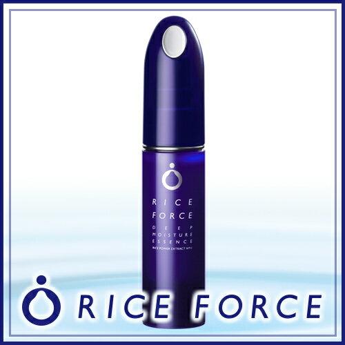 ライスフォース ディープモイスチュアエッセンス(薬用保湿美容液)毛穴・しみ・シミ・ニキビ対策、美白、美肌にお米の力でうるおいスキンケア