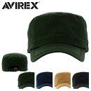 アヴィレックスワークキャップサイズ調整可能帽子14916800AVIREX|メンズレディースフリーサイズ【PO10】