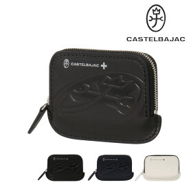 カステルバジャック カードケース ブレス メンズ 32601 CASTELBAJAC | ラウンドファスナー 牛革 本革 レザー ブランド専用BOX付き[PO10]