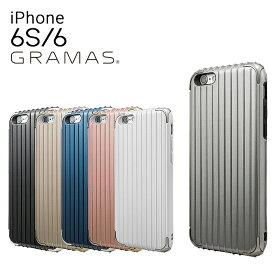 グラマスカラーズ iPhone6 ケース Rib Hybrid Case CHC406 【 アイフォン スマホケース スマートフォン カバー ICカードポケット メンズ 】[bef][即日発送]
