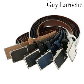 ギラロッシュ ベルト メンズ CB10560 日本製 Guy Laroche | バックルタイプ ビジネス カジュアル フォーマル 牛革 本革 レザー [PO5][bef]