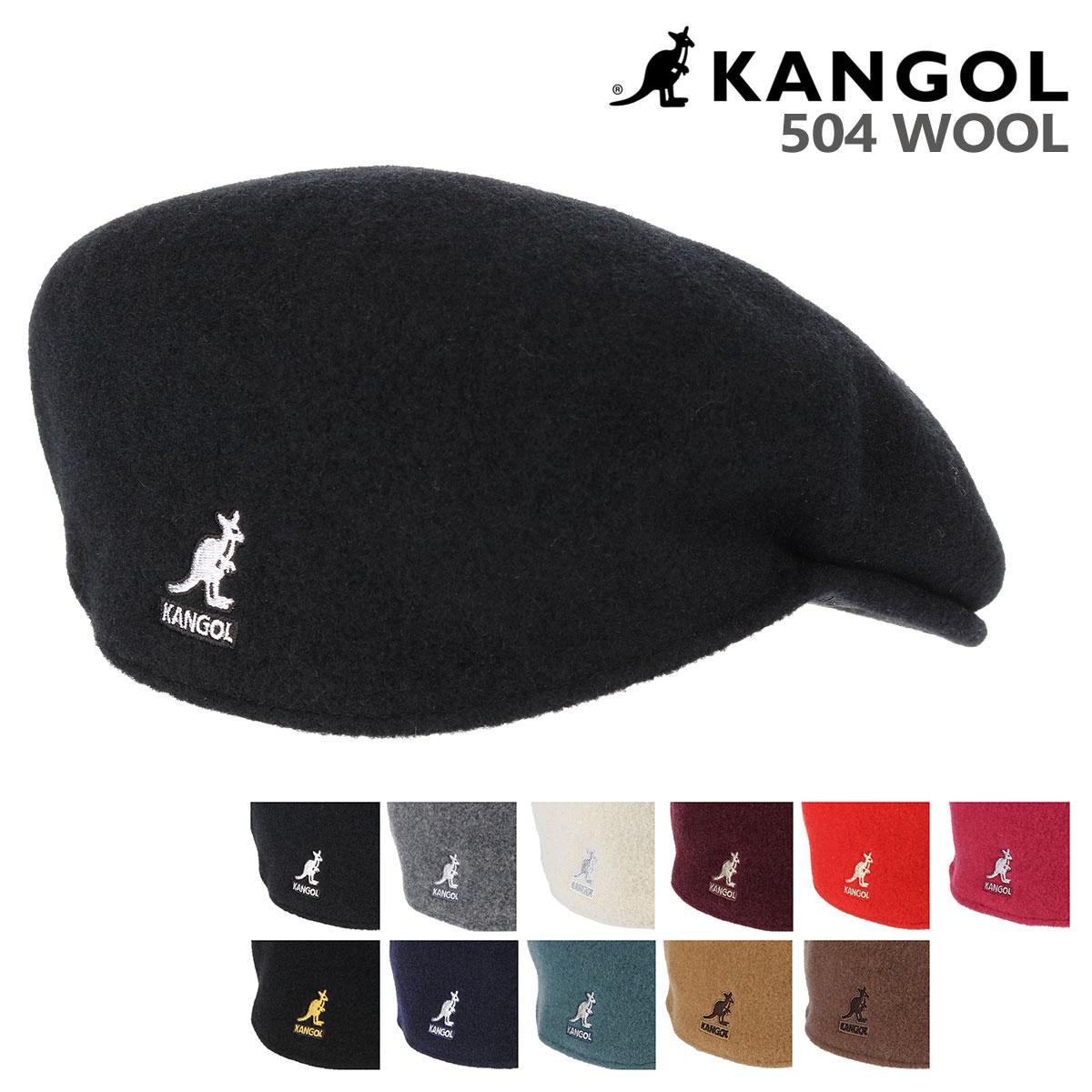 カンゴール ハンチング 504 ウール レディース メンズ 187169001 KANGOL 帽子[PO5][bef][即日発送]