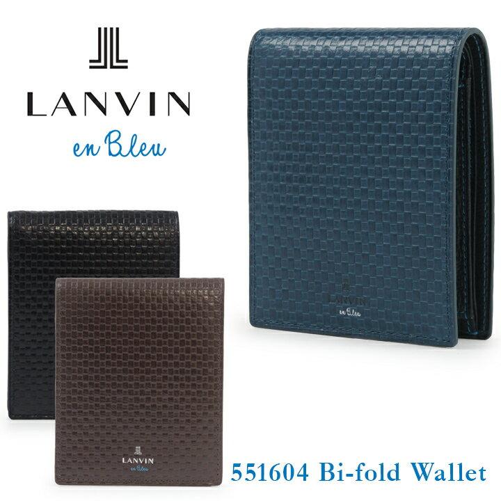 ランバンオンブルー 財布 551604 エスパス LANVIN en Bleu 【 ランバンオンブルー 】【 二つ折り 財布 メンズ 】[bef][即日発送]